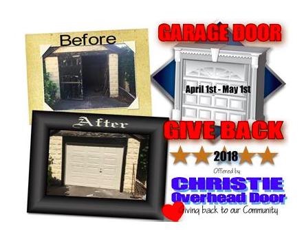 Christie Overhead Door Staten Island Garage Door Give Back