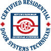 Certified Residential Door Systems Technician