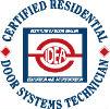 Certified Residential Door Systems Technician