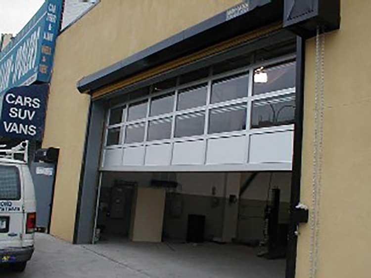 Commercial Aluminum Service Door in Forest Hills Queens