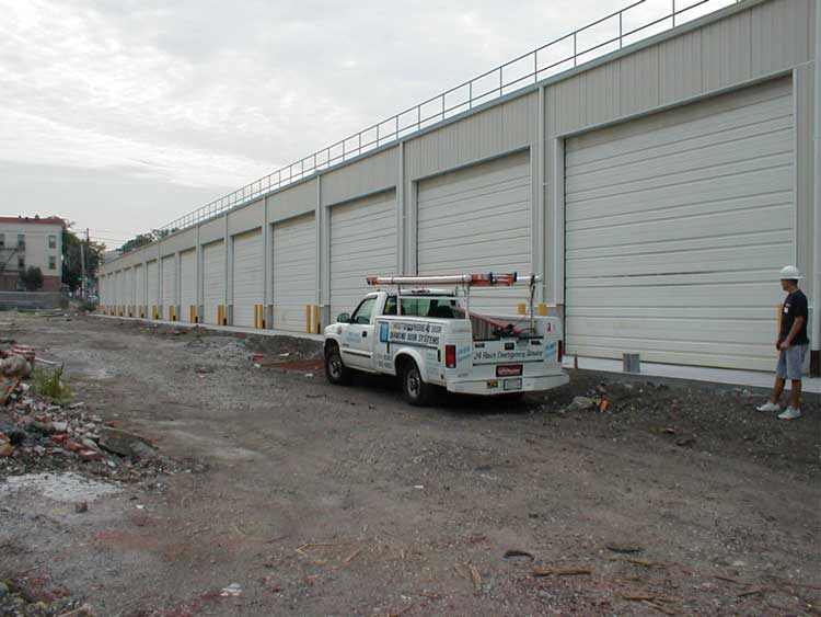 Steel Warehouse Overhead Doors in College Point Queens