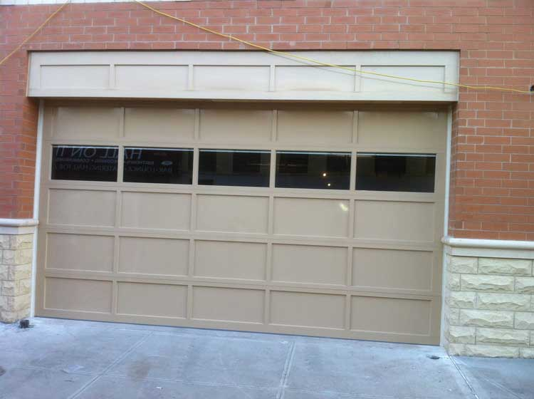 Aluminum Door With Custom Transom
