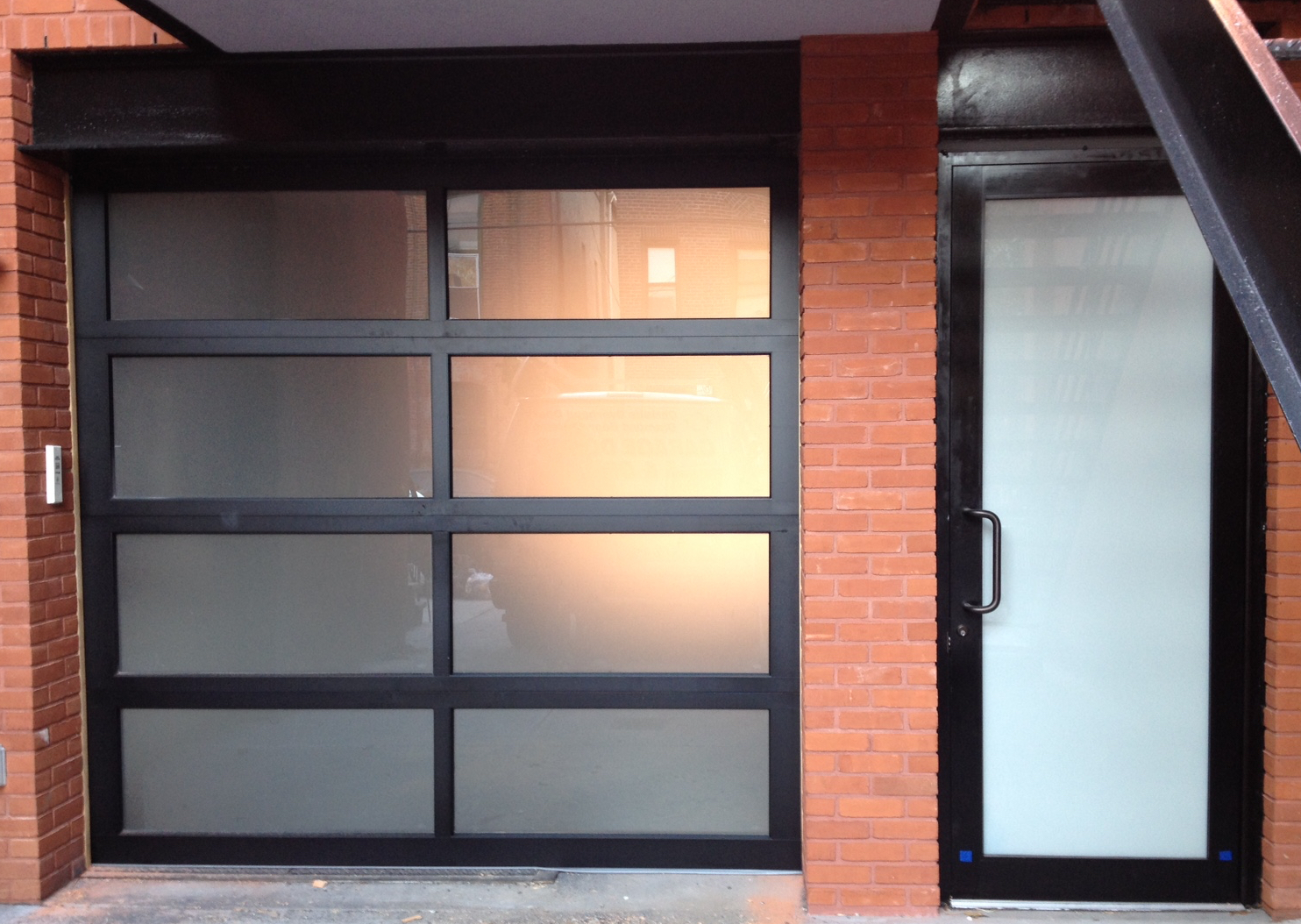 Aluminum glass garage doors are a modern trend for Aluminium glass windows and doors