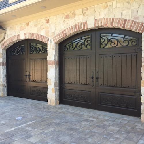 Iron ornamental garage doors are trending in nyc boroughs for Garage door trends 2017