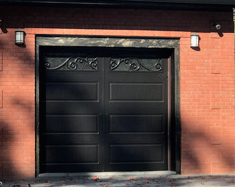 Iron Ornamental Garage Doors