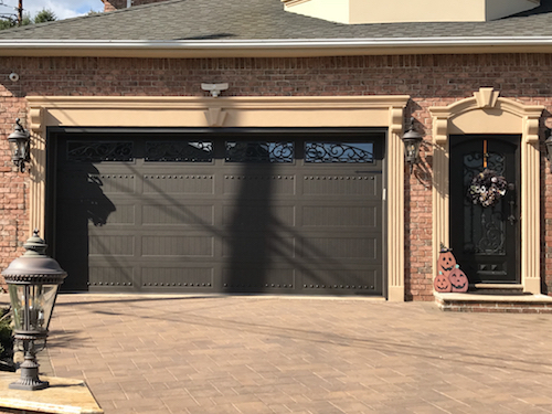 Staten Island Ornamental Scorrimento Garage Door Design
