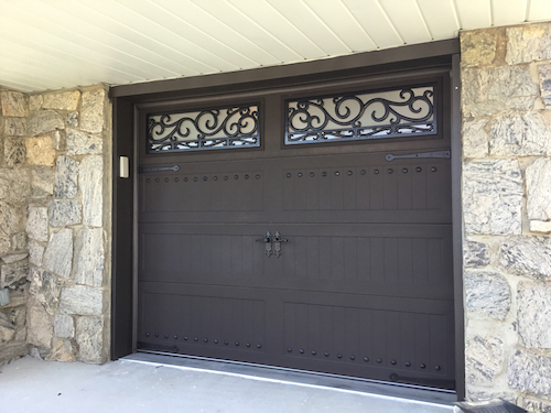 Wrought Iron Garage Doors In New York City Are Beautifully Designed