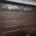 Brown wrought iron garage door