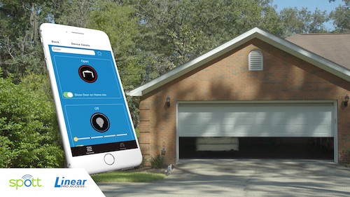 Garage Door smart app
