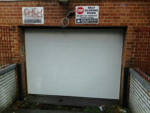 commercial parking garage doors