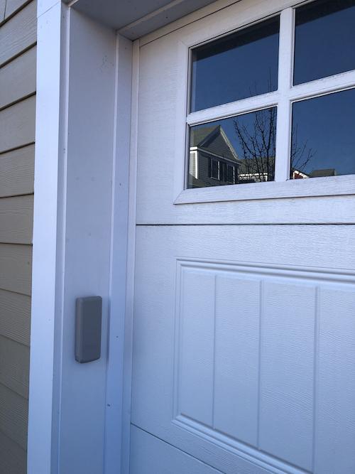 garage door keypad